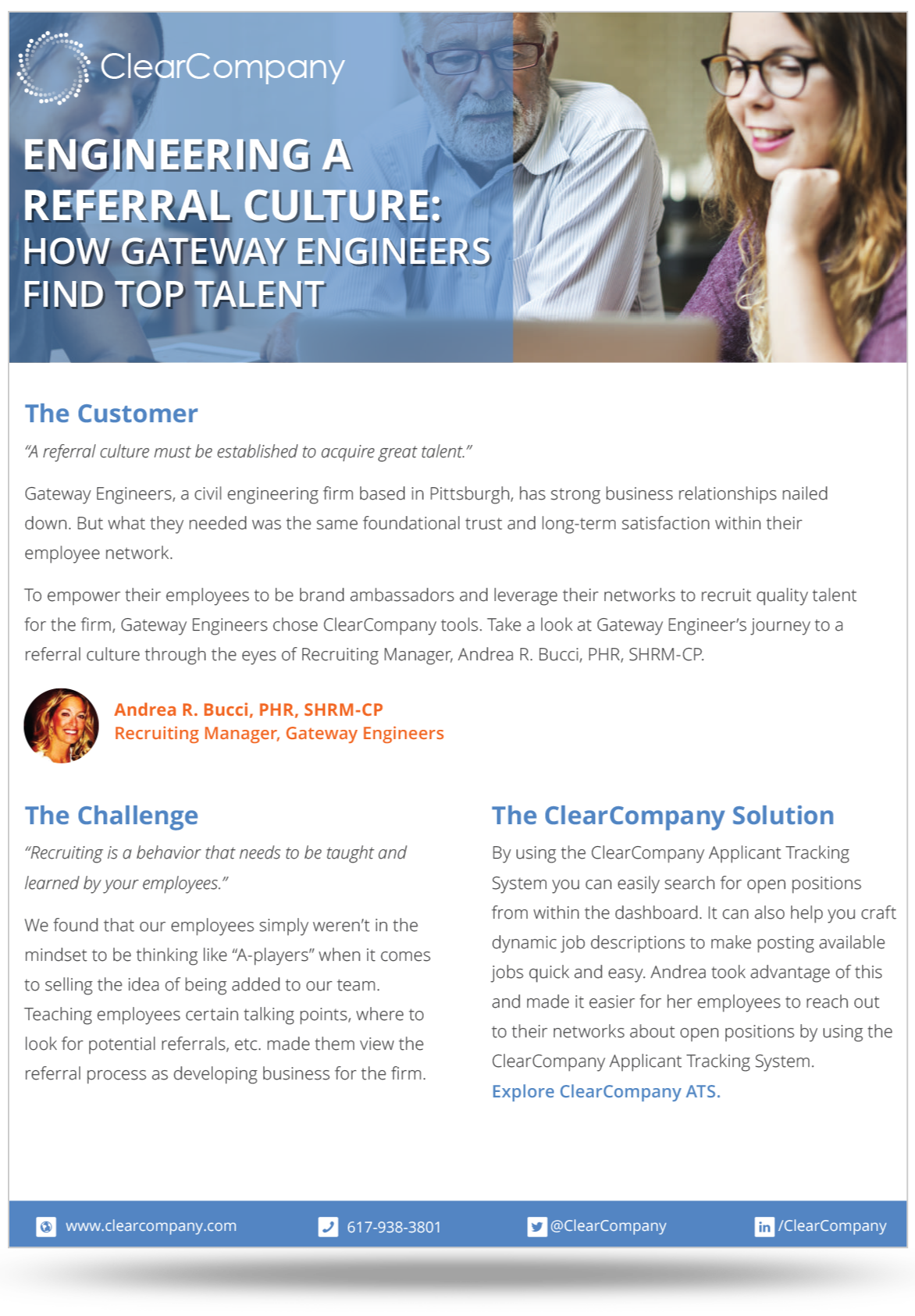 Talent Management Example of Gateway Engineering