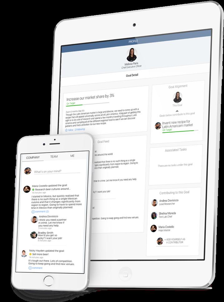 Talent OS on iPad Mini